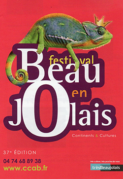 les Bêtes au Festival en Beaujolais<br>les 26 juin & 4 juillet