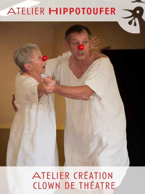 Atelier création clown de théâtre