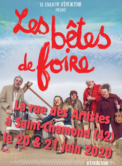Les bêtes de foire au Festival La rue des Artistes à Saint-Chamond (42)