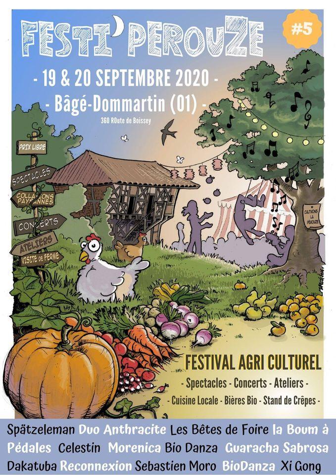 Les Bêtes de Foire au Festival Festipérouze samedi 19 septembre 2020 à 15h30