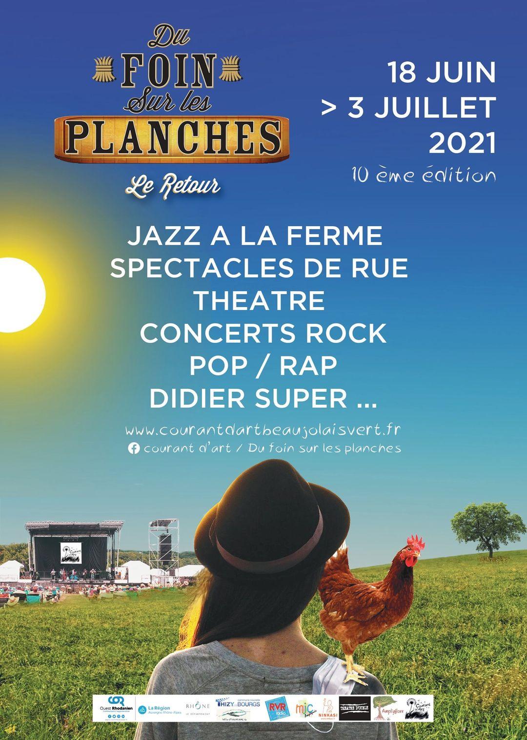 """Les Bêtes de Foire au festival """"Du foin sur les planches"""""""