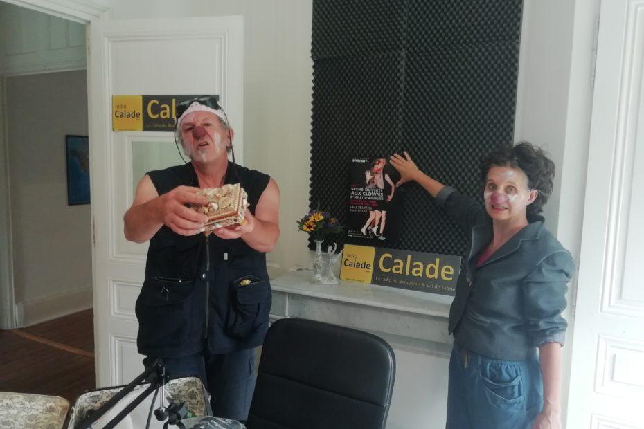 Louste et Marcel Flêche sur Radio Calade