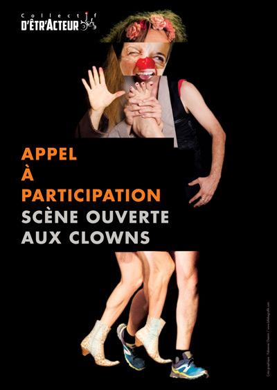 Appel à participation : Scène ouverte aux clowns à Jassans les 28 et 29 janvier 2022